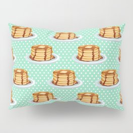 Pancakes & Dots Pattern Pillow Sham