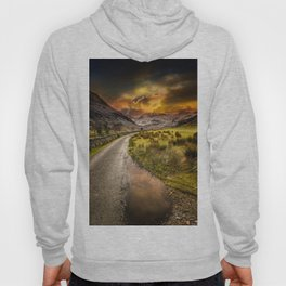 Valley Sunset Snowdonia Hoody