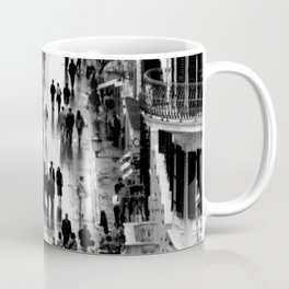 Rome, view from Spanish steps Coffee Mug