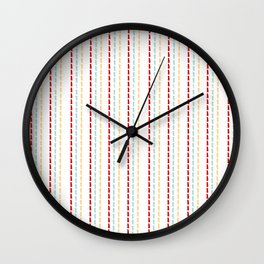 Stitched Wall Clock