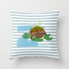 z for zaratan Throw Pillow
