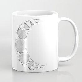 The Lunar Phases Coffee Mug