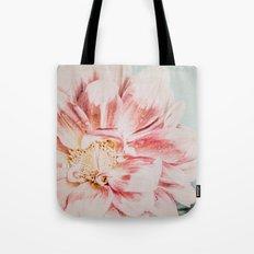 Pink Blush Flower Tote Bag
