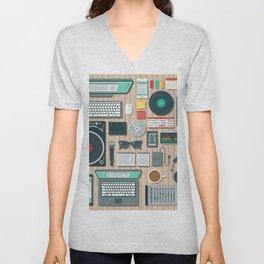 DJ's Workspace Unisex V-Neck