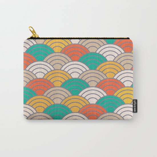 Colorful Circles X Carry-All Pouch