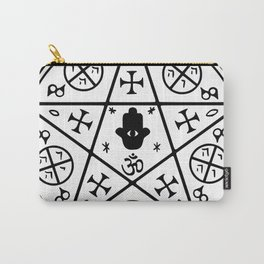 Anti-Demon sigil Carry-All Pouch