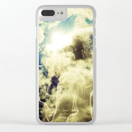 """Sun Watchers"" Clear iPhone Case"