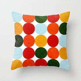 Circulos 42 Throw Pillow