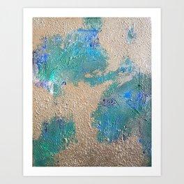 Chaotic Calm Art Print