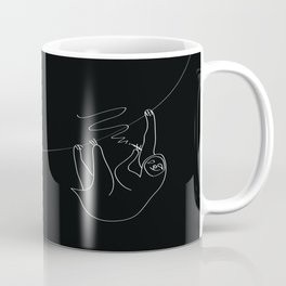 smoking sloth Coffee Mug