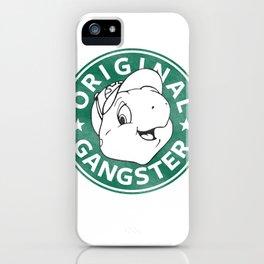 Franklin The Turtle - Starbucks Design iPhone Case