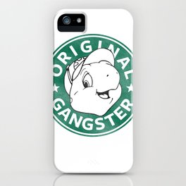 Franklin The Turtle - Starbucks Design iPhone Case