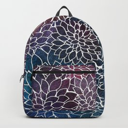Floral Abstract 21 Backpack