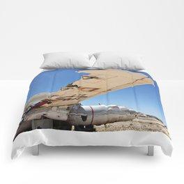 E-2B Sits in The Boneyard Comforters