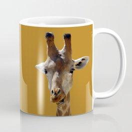 Giraffe Portrait Close up 2 Coffee Mug