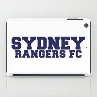 college iPad Cases featuring College - Blue by Sydney Rangers FC