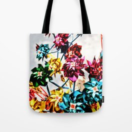 Caught By The Wind Tote Bag