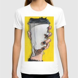 Melting cup T-shirt
