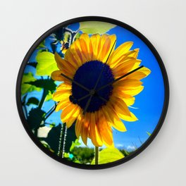 Gabriola Sunflower Wall Clock