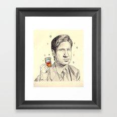 Mulder Framed Art Print
