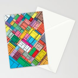The Burning Rainbow Bridge 155 Stationery Cards