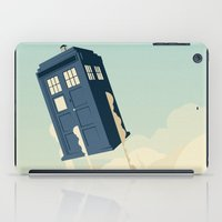 doctor iPad Cases featuring Time to Fly by Danny Haas