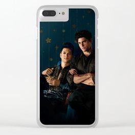Malec Clear iPhone Case