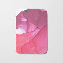 Red impression 1 Bath Mat