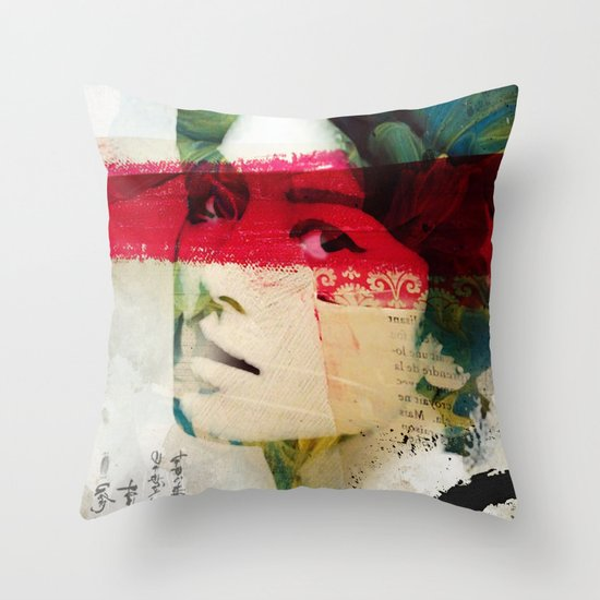 Saigon Sally Throw Pillow