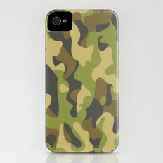 Military Pattern Slim Case iPhone (4, 4s)