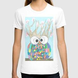 Blossom Tree Owl T-shirt