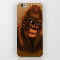 sasquatch iPhone & iPod Skins featuring Sasquatch by Luke Kegley