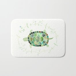 Painted Turtle Bath Mat