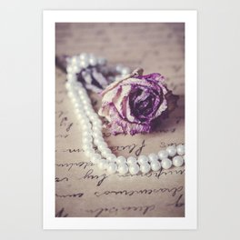 Love Letter II Art Print