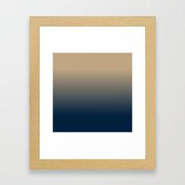 Midnight Sonata in Blue Framed Art Print