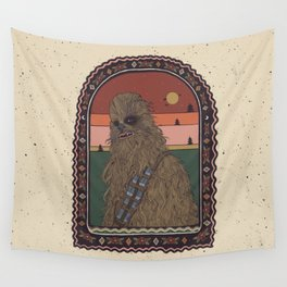 """""""Most Loyal Pal - Chewbacca"""" by Cassidy Rae Marietta Wall Tapestry"""