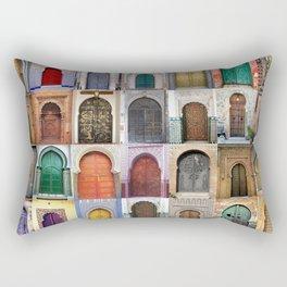 Moorish Doors Montage Rectangular Pillow
