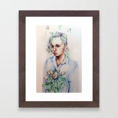 In Gloom/In Bloom Framed Art Print