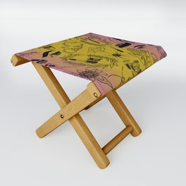 Queer Femme Fatale Folding Stool
