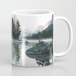 Morning paddle at Spirit Island Coffee Mug