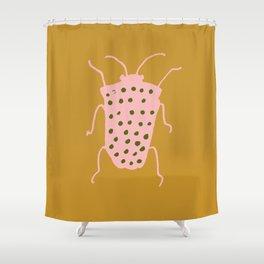 arthropod mustard Shower Curtain