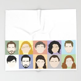 Once Upon A Cast Throw Blanket
