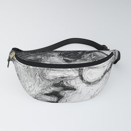 Abstract Ink Kiss Fanny Pack