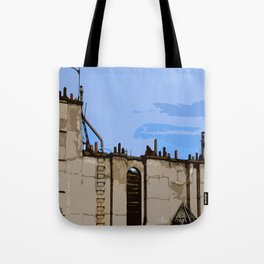 Paris Roofs Tote Bag