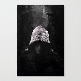 Victorian Assassin Hood - Color Canvas Print