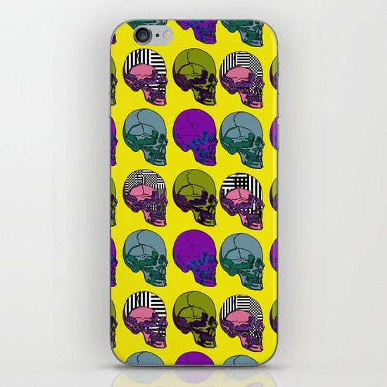 Pop go the Skulls iPhone & iPod Skin
