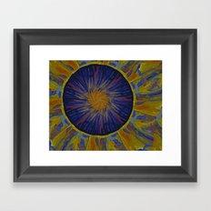 Marble World 2 Framed Art Print