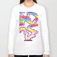 northern lights Long Sleeve T-shirts featuring Northern Lights by Carrollskitchen on youtube