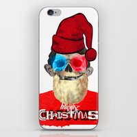 xmas iPhone & iPod Skins featuring Xmas by Marko Köppe