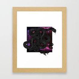 Snakelicious Framed Art Print